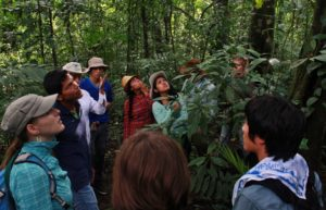 CLTL students visited Lacandona Jungle – the largest protected area in Chiapas. Indigenous groups and wide variety of wildlife live and share this ecosystem.